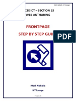 Web Authoring Step by Step Booklet