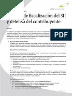 Proceso de Fiscalizacion Del Servicio de Impuestos Internos y Defensa Del Contribuyente