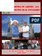 Revista El Divisadero 2015