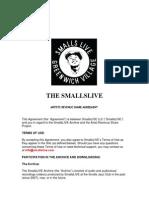 Smalls Jazz Club Contract