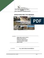 Informe Estructuras Pre y Pos Tensadas