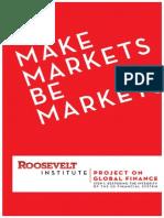 Make Markets Be Markets
