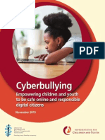 RCY - Cyberbullying - Empowering children and youth to be safe online and responsible digital citizens
