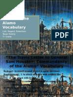 battle of the alamo vocabulary