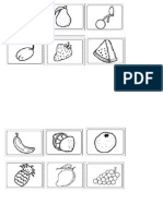 Fruit Worksheet-bingo