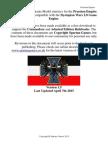 DW Prussian Empire Full Orbat April 2015