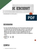 Leyes de Kirchhoff LKC Tema 2 Clase