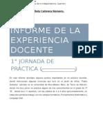 Informe I. Citlaly Cabrera Romero