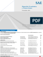 Proyecciones Economia Peruana a Noviembre 2015