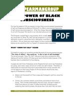 The Power of Black Consciousness