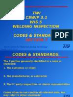 7. Code & Standards