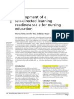 Self-directed Learning Scale for Nurses-Aan