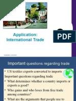 Applications Intl Trade