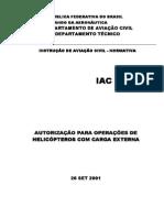 Autorización para operaciones con carga externa.