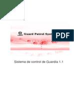 Manual Sistema de Control de Guardia