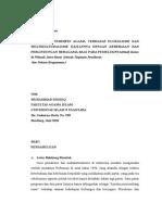 Pandangan Thd Pluralisme Dan Multikulturalisme Revisi