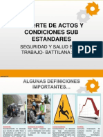 2. Actos y Condiciones Sub Estandares