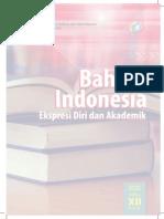 Buku Bahasa Indonesia Kelas XII