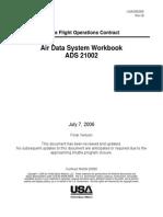 Air Data System Workbook 21002
