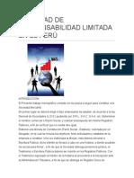 Sociedad de Responsabilidad Limitada en El Perú