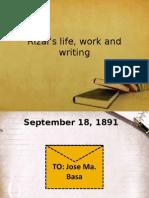 10Rizals Life Work and Writing 2
