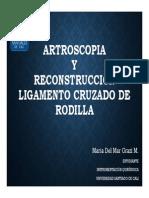 IQ- Artroscopia y Cx Lig. Cruzado de Rodilla