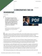 New Zealand's Conservatives Take on Disadvantage • Inside Story