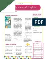 class newsletter 11s3