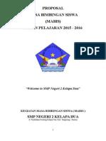Proposal Mabis 2015-2016