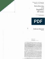 beaugrande-dressler introduccion a la lingüística del texto.pdf