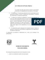 Manual de Elaboracion de Pruebas Objetivas Completo