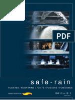 Catalogo de Accesorios de Fuentes SAFE RAIN