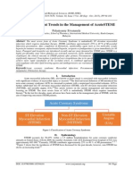 Review on Current Trends in the Management of AcuteSTEMI