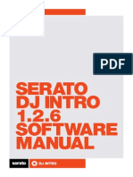 Serato DJ Intro 1.2.6 Software Manual - English