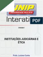 Inst. Jud. I