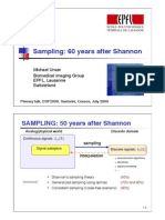 Sampling 60 Years After Shannon