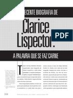 Clarice Lispector - A Palavra Que Se Faz Carne