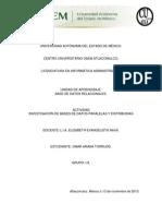 Investigación de Bases de Datos Paralelas y Distribuidas