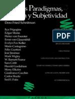 Fried Schnitman Dora - Nuevos Paradigmas Cultura Y Subjetividad