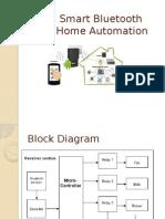 Smart Bluetooth Home Automation