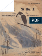 Le ski par la technique moderne