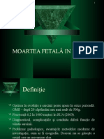 Moartea Fetala in Utero