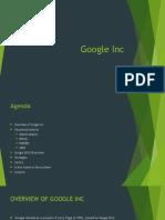 Google Inc PPT