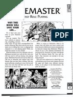 ICE5800 - Rolemaster - Basic Manual