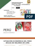Análisis Económico Del Perú, Latinoamérica y El Mundo