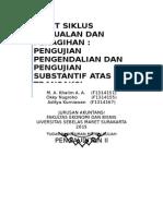 Audit Siklus Penjualan Dan Pengumpulan Kas