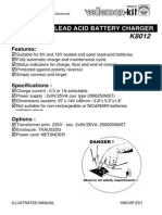 Battery Charger Manual K8012