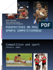 Perspectives on Philippine Sports Competitiveness by Dave Bercades, MS, EMS