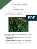 Cap. 3. Exploración - Agua Subterranea