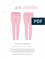 Matilda Leggings Spit Up Sewing pattern